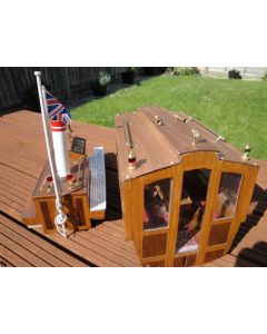 A set of 4 Hand Rails for a Model Boat (25mm) long